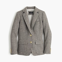 Tall Rhodes blazer in puppytooth