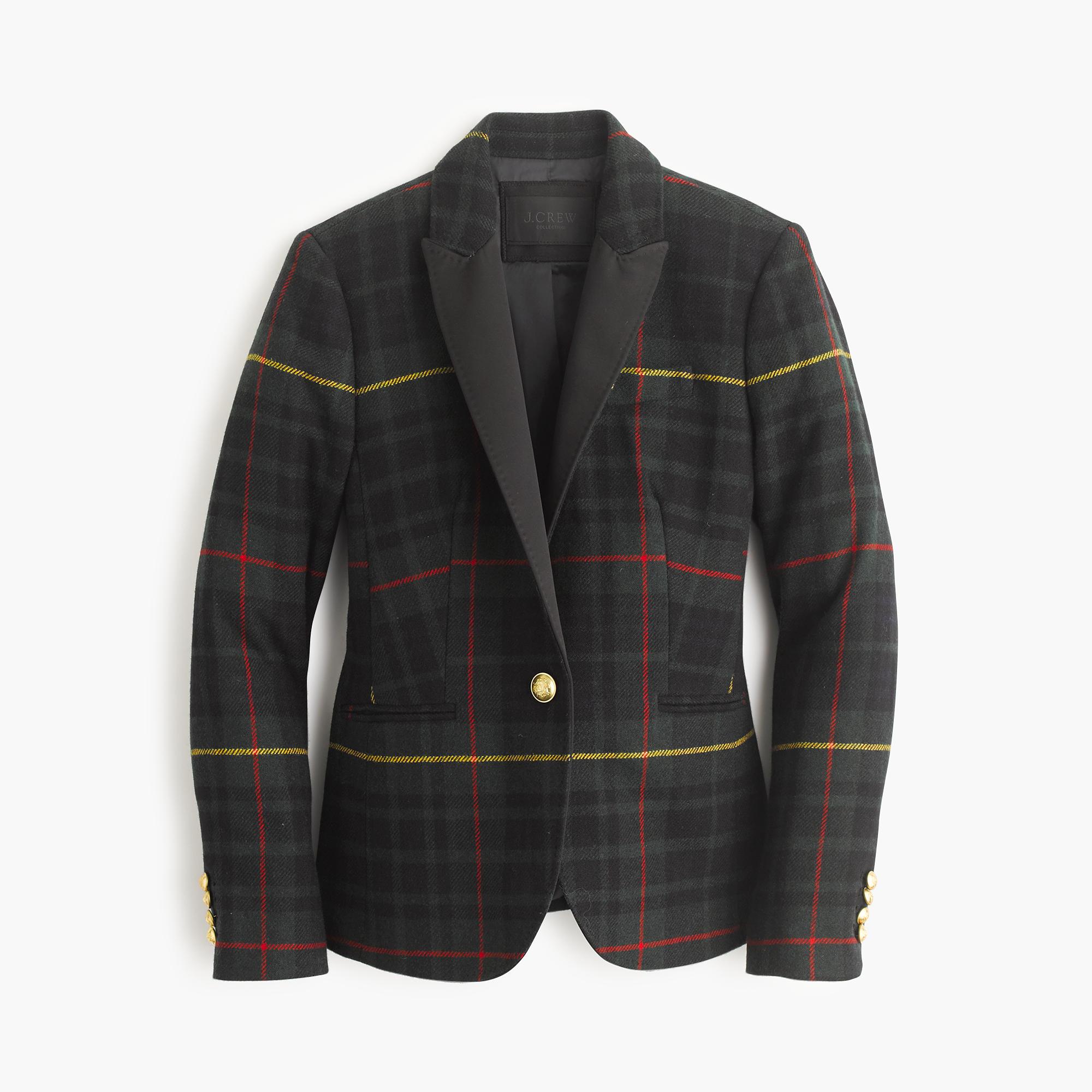 Collection Campbell Blazer In Tartan : Women's Jackets