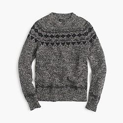 Italian wool Fair Isle sweater