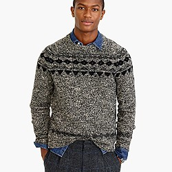 Italian wool Fair Isle sweater