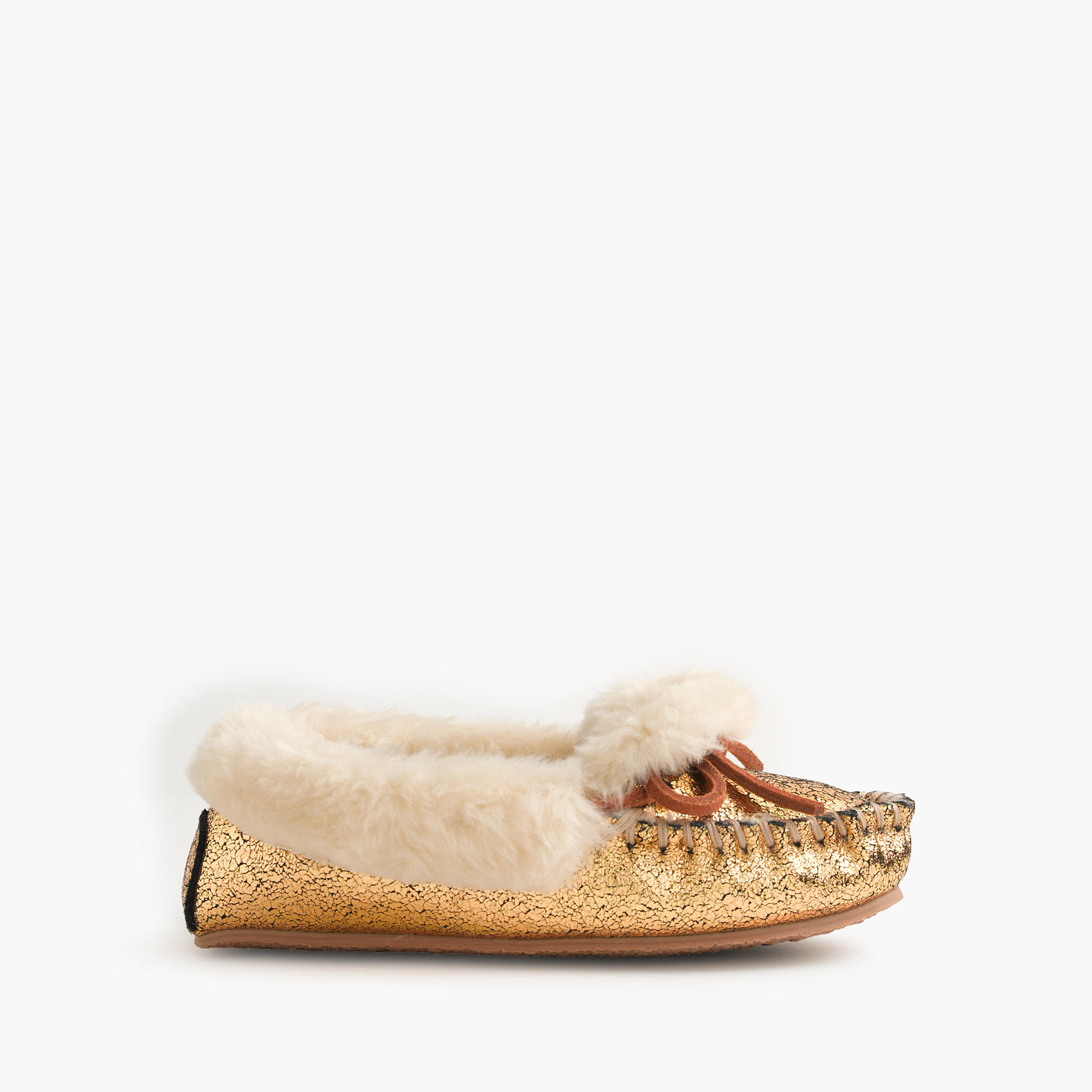 Girls 39 metallic slippers j crew for J crew bedroom slippers