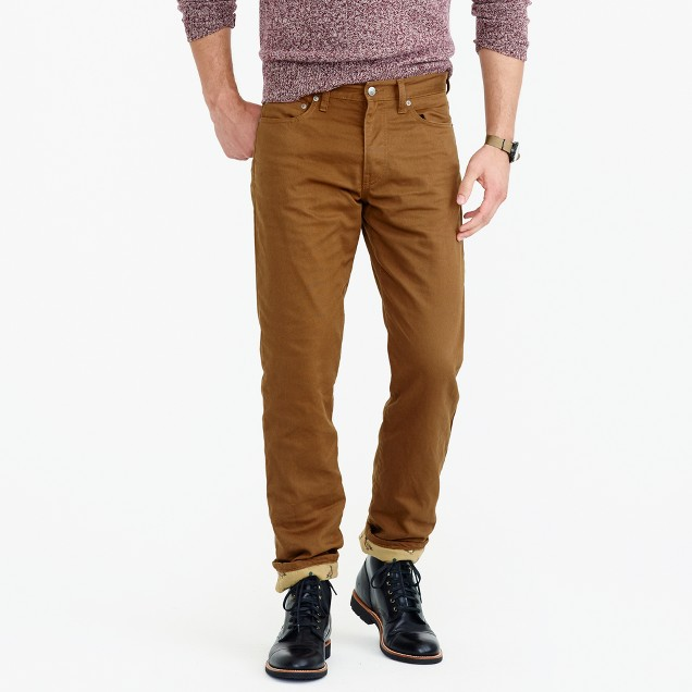 770 straight Bedford cord cabin pant