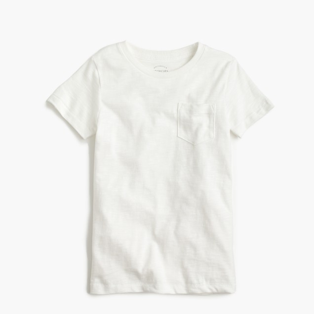 Boys' garment-dyed T-shirt