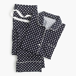 Dreamy cotton pajama set in dot