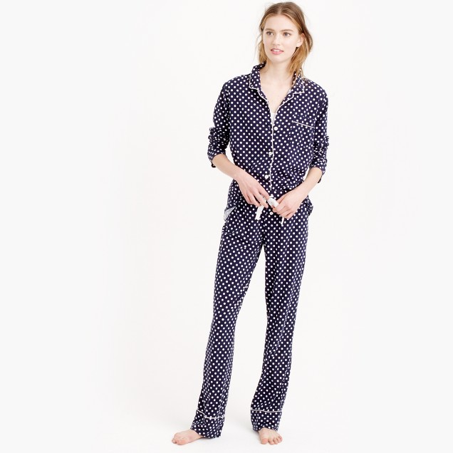 Dreamy cotton pajama set in dot