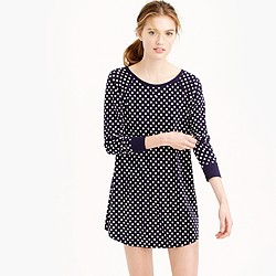Dreamy cotton polka-dot nightshirt