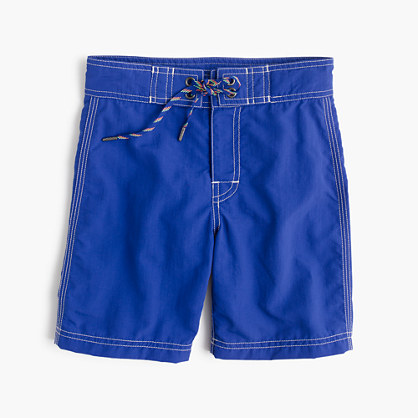 Boys' solid board short