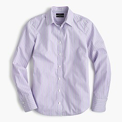 Perfect shirt in lilac stripe