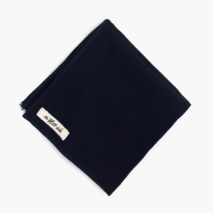 The Hill-side® Japanese selvedge Panama cloth pocket square