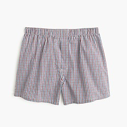 Cabernet tattersall boxers