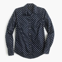 Perfect shirt in foil dot