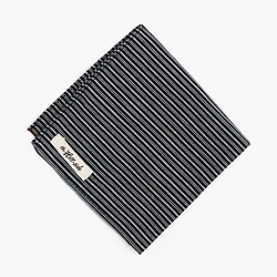 The Hill-side® pocket square in father and son stripe