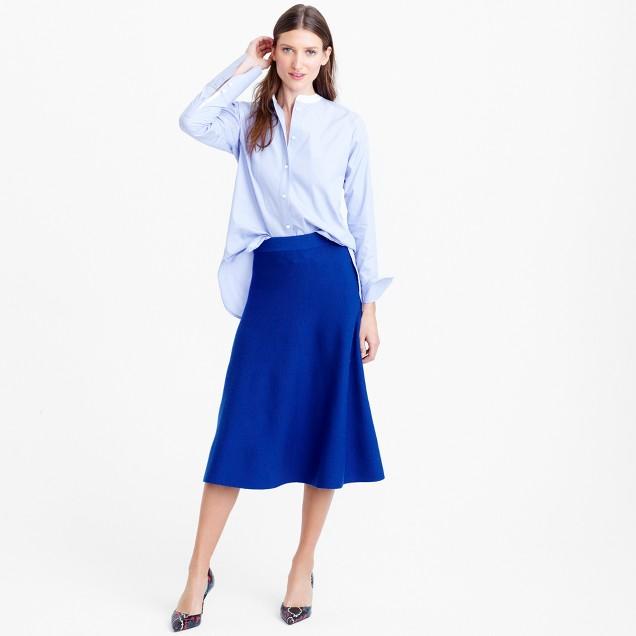 Midi sweater-skirt