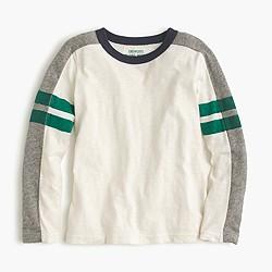 Boys' long-sleeve T-shirt with arm stripe