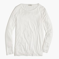 Drapey long-sleeve T-shirt
