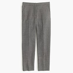 Patio pant in mini-dot wool