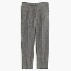 Patio pant in mini-dot wool