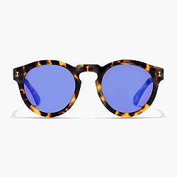Illesteva™ Leonard mirrored sunglasses in tortoiseshell