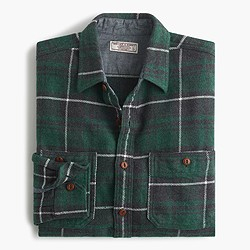 Wallace & Barnes heavyweight flannel in Marlow plaid