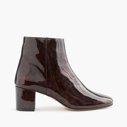 Patent tortoise boots