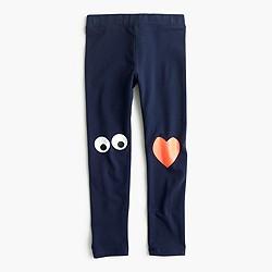 Girls' everyday leggings in Max the Monster