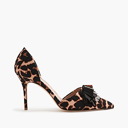 Collection Elsie sequin fabric d'Orsay pumps