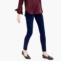 Collection suede leggings