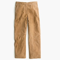 Collection suede patio pant