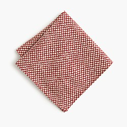 Kiriko™ Japanese cotton shibori pocket square