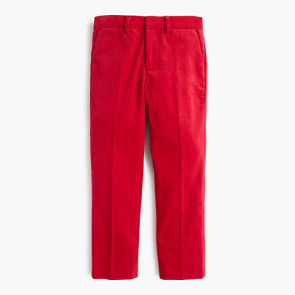 Boys' Bowery slim pant in cord