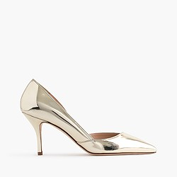 Colette metallic gold d'Orsay pumps