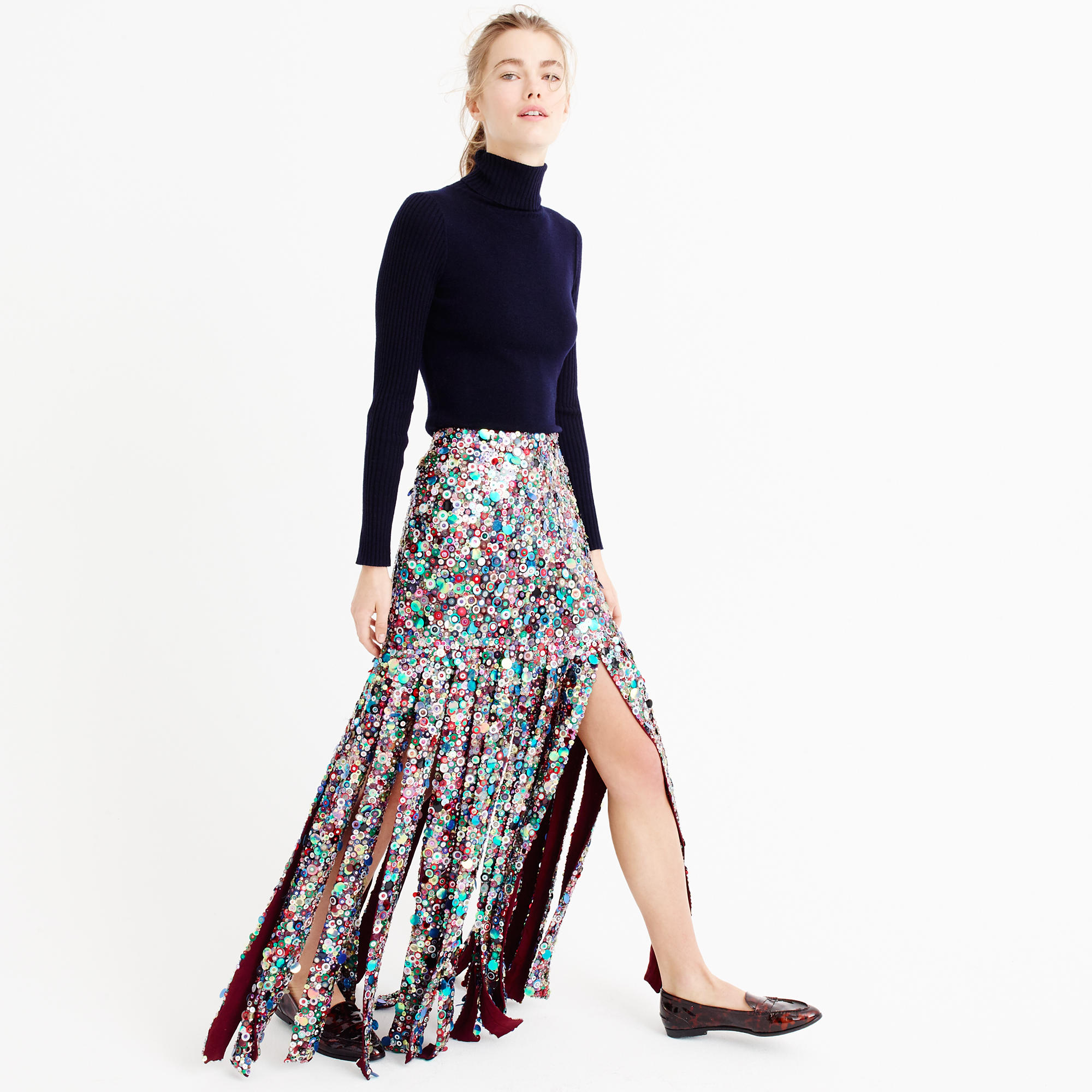 Collection Sequin Maxi Skirt : Women's Skirts | J.Crew