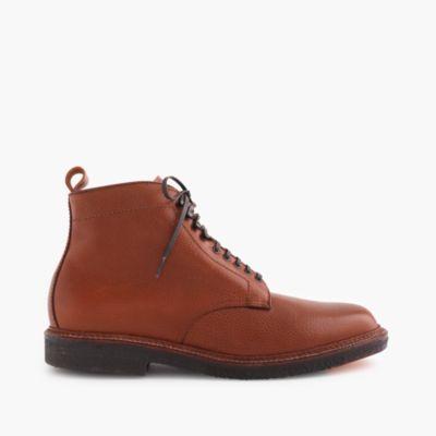 alden for j crew plain toe boots s shoes j crew