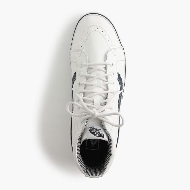 Vans® sk8-hi leather sneakers