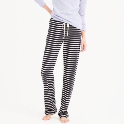 Dreamy cotton pant in stripe