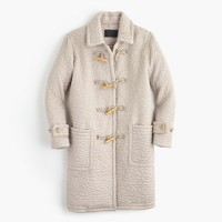 Collection mohair duffle coat