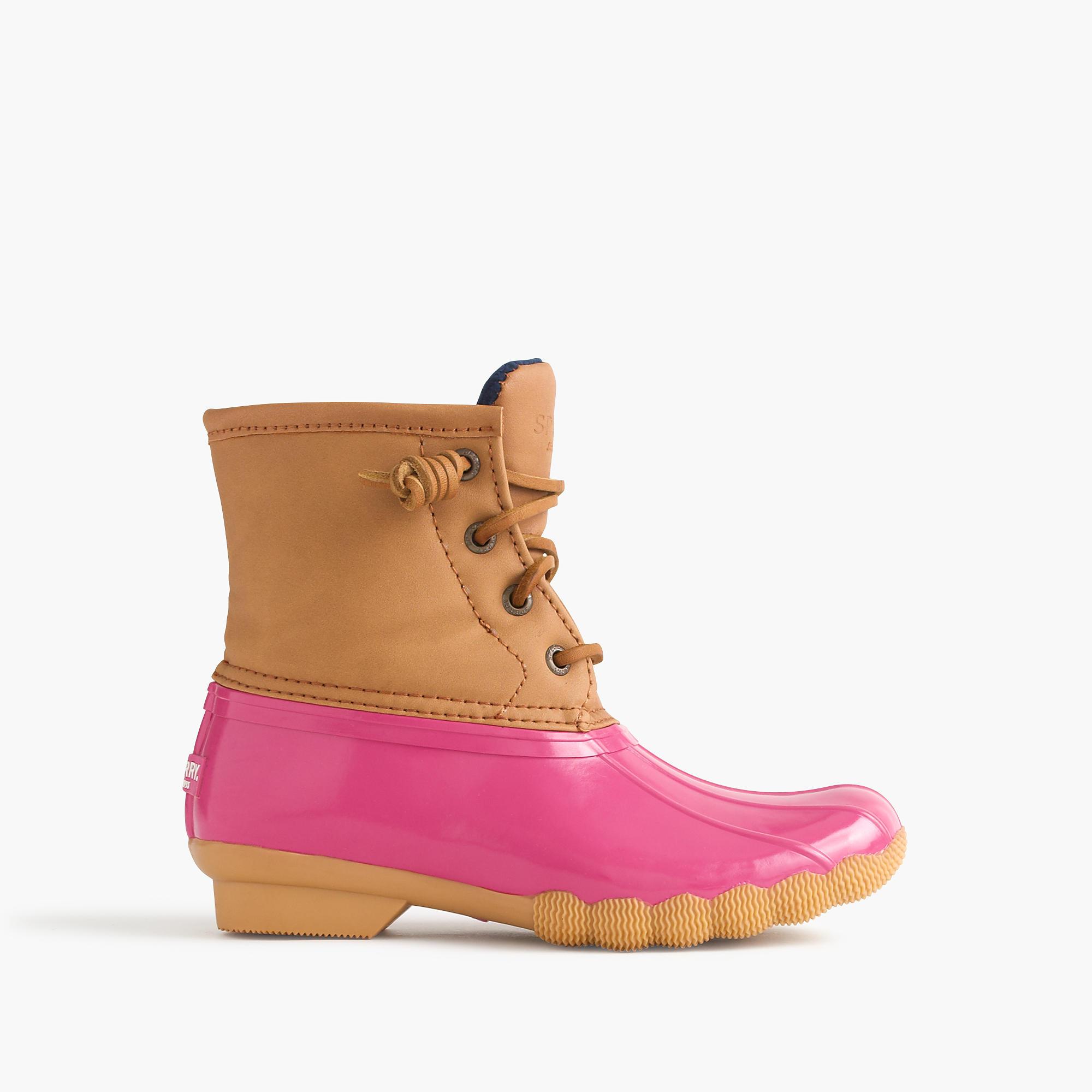Girls Sperry Saltwater Boots Girls Boots