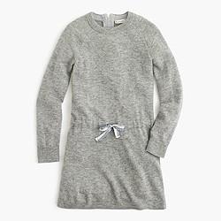 Girls' sweater-dress