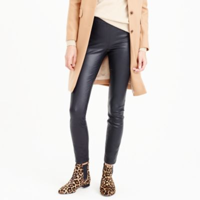 Collection petite leather leggings
