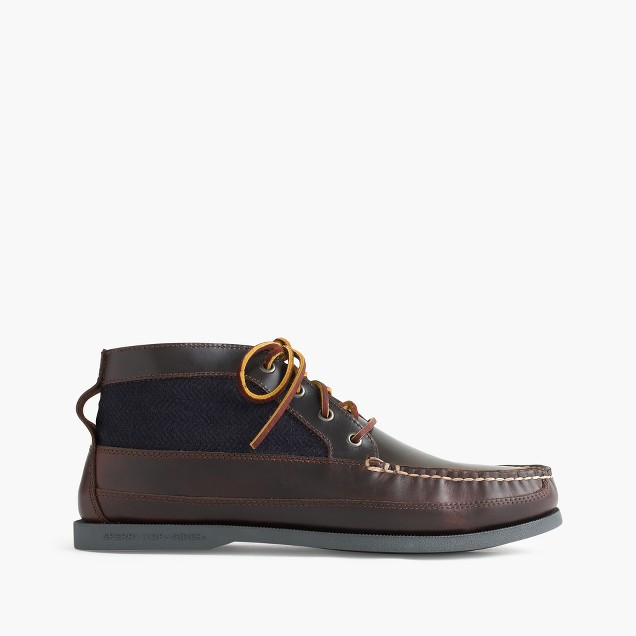 Sperry® for J.Crew wool and leather chukka boots