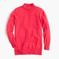 Petite Tippi mockneck sweater