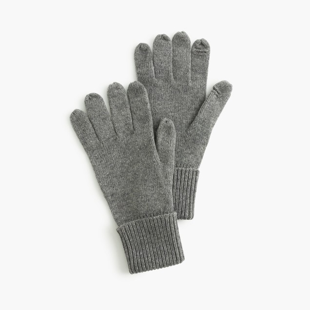 Tech-friendly gloves