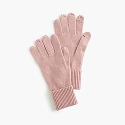 Tech-friendly gloves