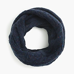 Kids' Donegal wool infinity scarf