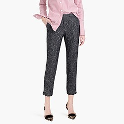 Tall Martie pant in sequin herringbone