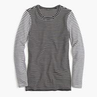 Waffle T-shirt in stripe