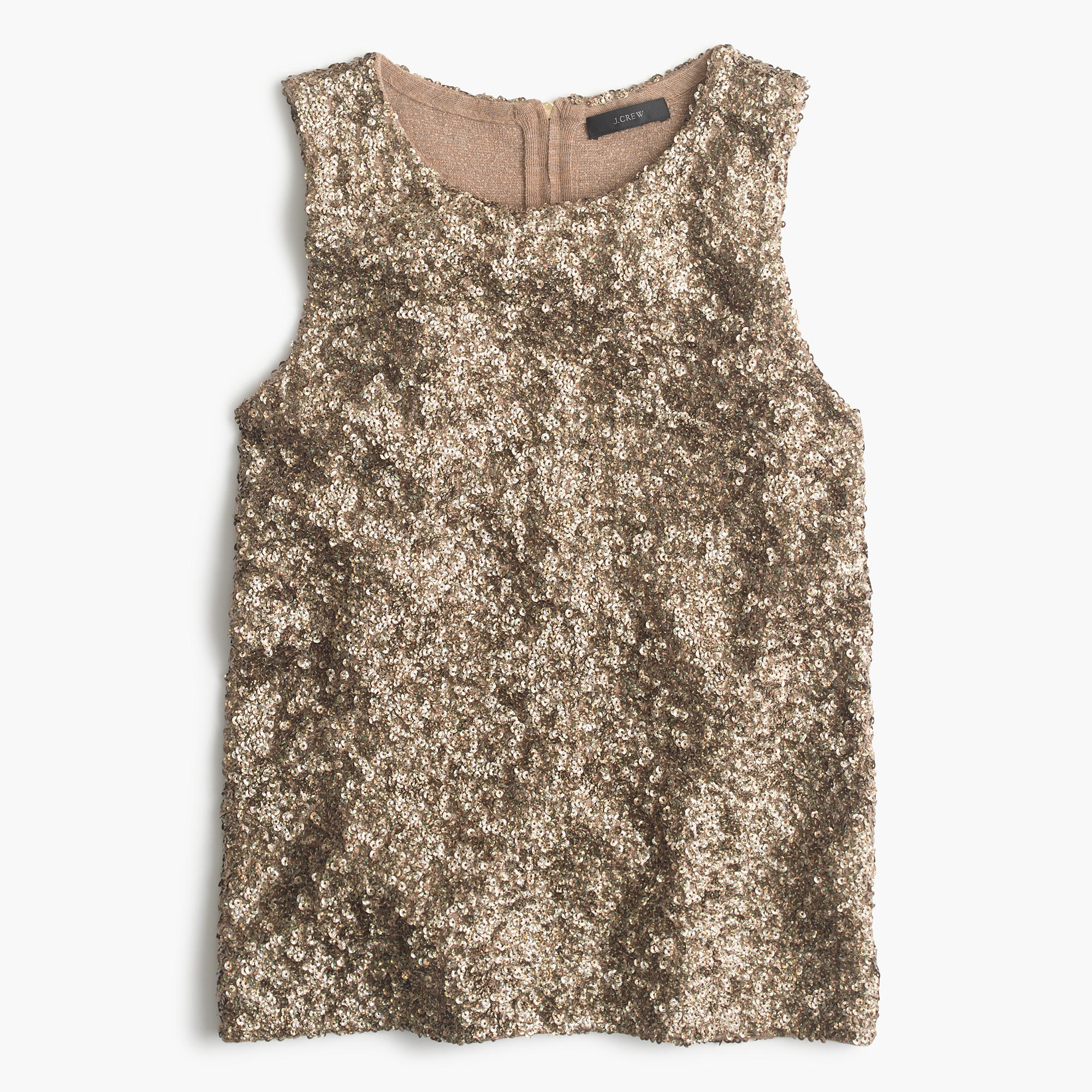 Collection Sequin Tank Top J Crew