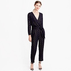 Collection gold-flecked jumpsuit