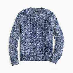 Italian wool cable sweater
