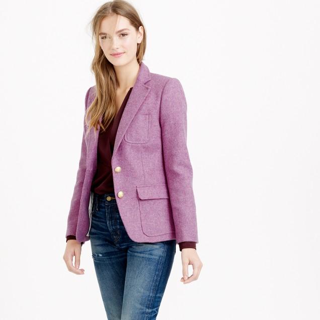 Collection Rhodes blazer in heather floral wool